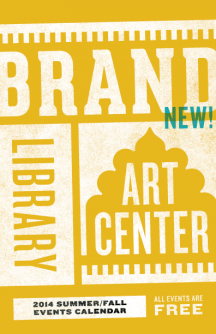 Brand Library & Art Center calendar cover