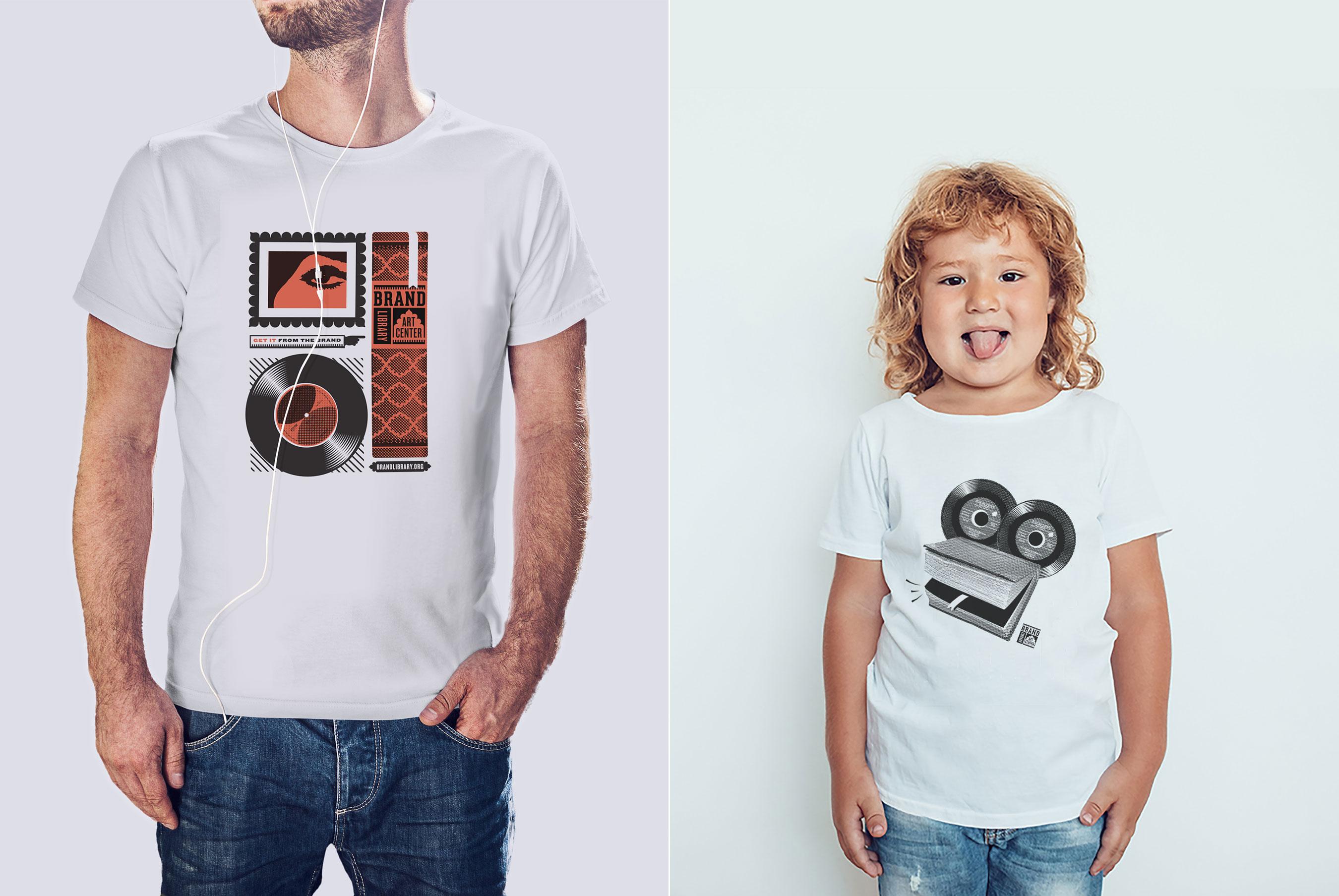 Brand Library tshirts