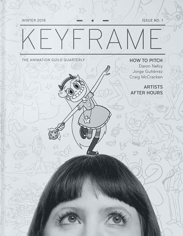 Keyframe magazine cover